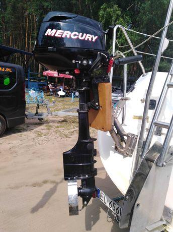 Silnik zaburtowy MERCURY 3,5 KM czterosuw, stopa L