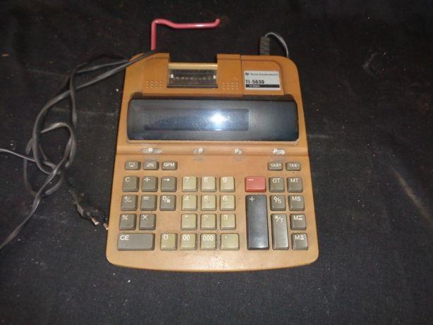 maquina registadora de rolo TEXAS INSTRUMENTS TI-5630