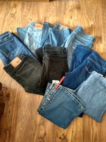 Spodnie jeans rurki i inne ròzne rozmiary wyprzedaż stan bdb