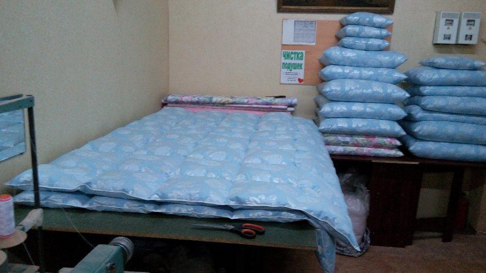 Паровая чистка подушек, реставрация подушек, замена наперника Днепр.