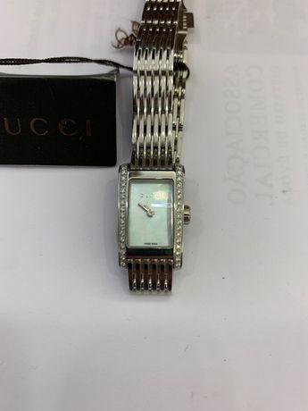 Relógio Gucci com Diamantes – Verdadeiro/Novo/Na Caixa – Com Fatura