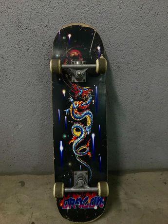 Skate usado em competição