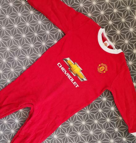 Body dziecięce niemowlęce Manchester United 9 - 12 miesięcy pajacyk