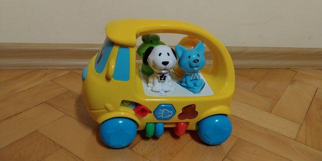 Grający samochód edukacyjny