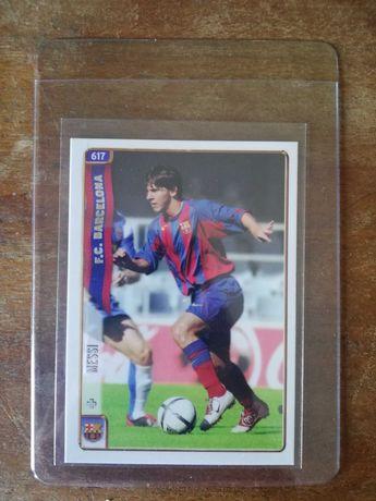 2004 Mundicromo LIONEL MESSI ROOKIE Card RC #617 Barcelona