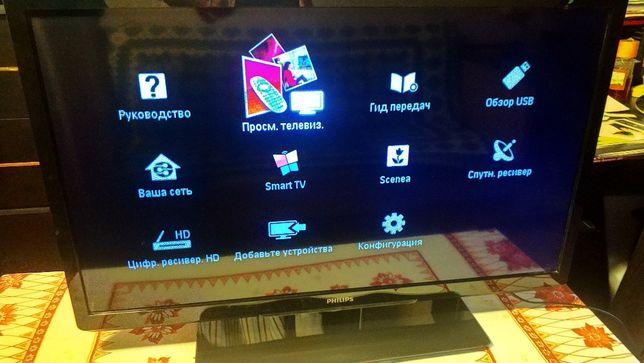 Smart LED TV Philips 32PFL4007H/12