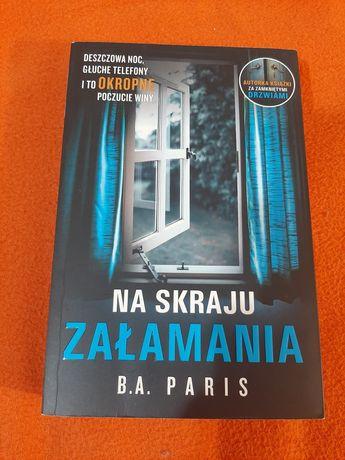 Książka B.A Paris - na skraju załamania