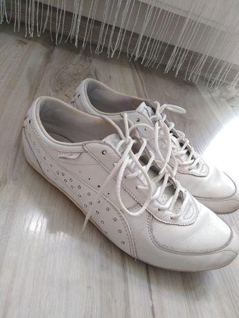 Białe adidasy damskie z diamencikami puma 39