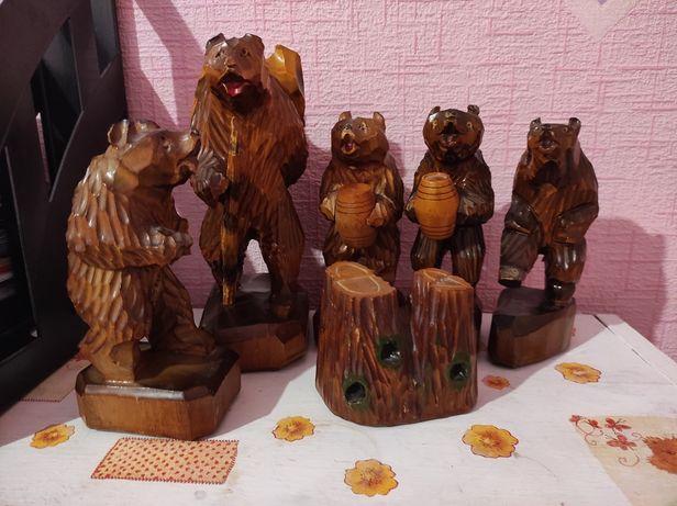 Деревянные медведи, СССР, 1960-е