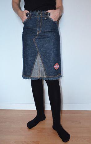 Świetna spódnica jeansowa EXIT roz S