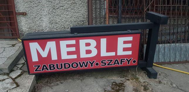 Kaseton Reklama Zewnętrzna Meble