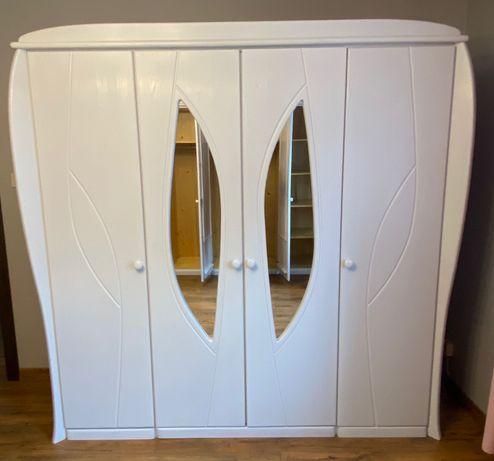 Sprzedam meble do sypialni lub garderoby - lite drewno