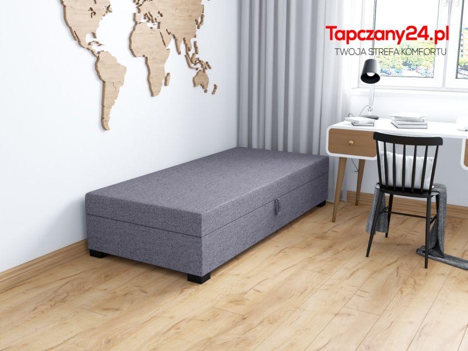 Łóżko tapicerowane Sofa Solidny tapczan z pojemnikiem 80/90/100/110