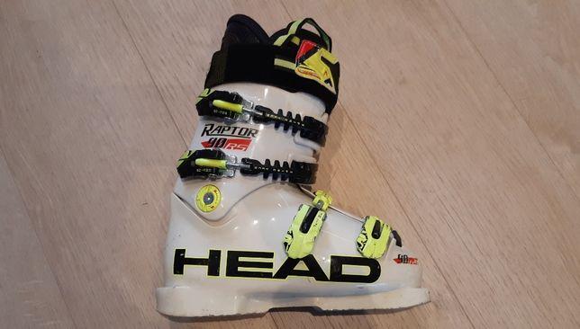 Juniorskie buty narciarskie Head Raptor 90 RS - rozmiar wkładki 23 cm.