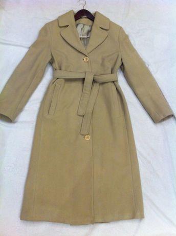 Кашемировое итальянское стильное пальто
