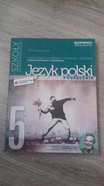 Podręcznik do języka polskiego dla szkół ponadgimnazjalnych cz.5