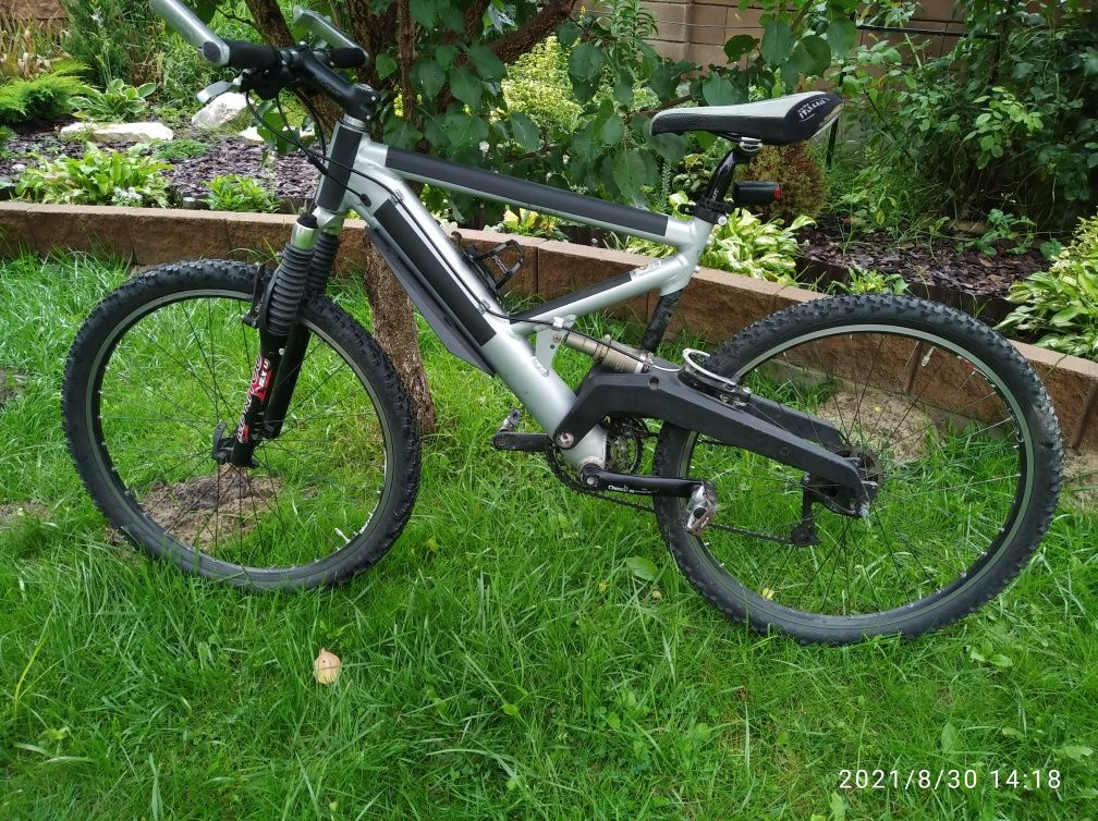 Велосипед  Sage алюмінієвий двопідвіс