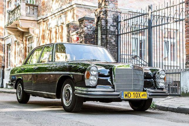 Zabytkowy Mercedes W108 do ślubu!