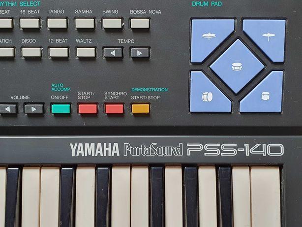 Mały japoński keyboard Yamaha dla dzieci