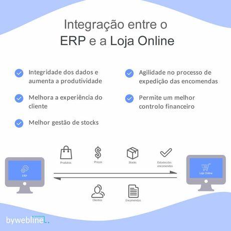 Integração entre o ERP e a Loja Online