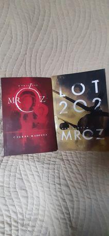2 książki- Remigiusz Mróz