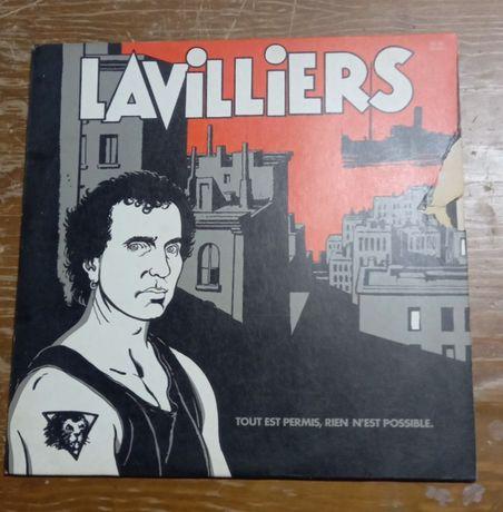 Disco Vinil antigo Lavilliers