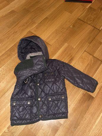 Курточка деми, куртка-пальто стёнанное