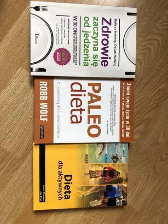 Dieta Paleo 3 książki
