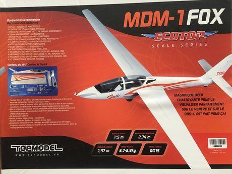 Motoszybowiec MDM-1 FOX - RC model rozpiętość 2.74m