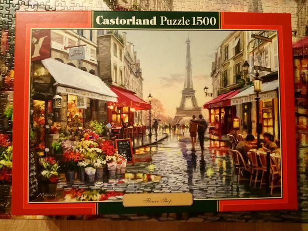 Puzzle Castorland Zielona seria 1500 elementów Flower Shop