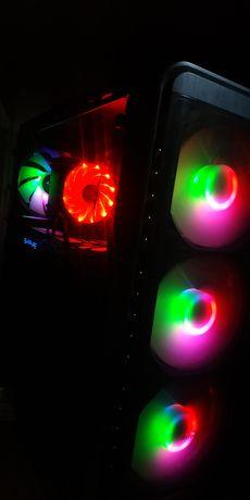 Продам ПК! RX580, 6 ядер 12 потоков, 16gb ОЗУ, NVME M2 256GB+Периферия