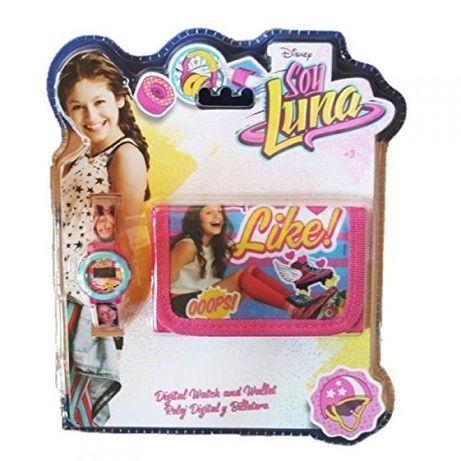 SOY LUNA Conjunto Carteira + Relógio Digital. Agualva-Cacem