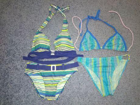 Голубой синий купальник для девочки 11-15 лет