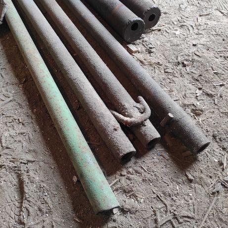 Труба буровая ф50х6 2800 мм