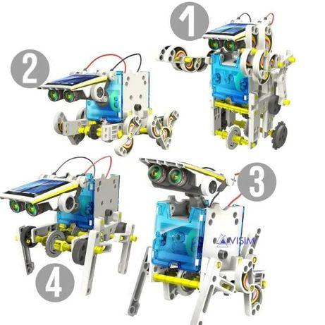 ПОДАРОК -50% Конструктор Solar Robot 13 в 1 на солнечных батареях