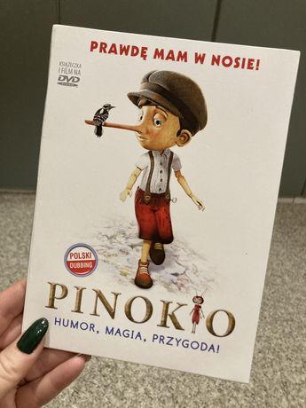 DVD z książką PINOKIO