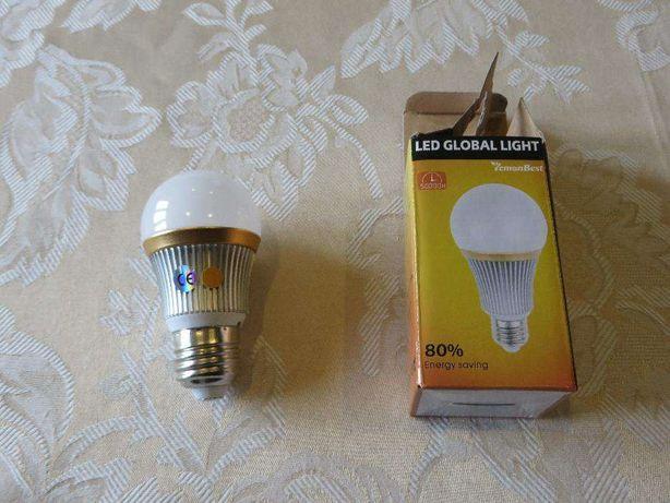 LÂMPADA LED E27 9W - warm white