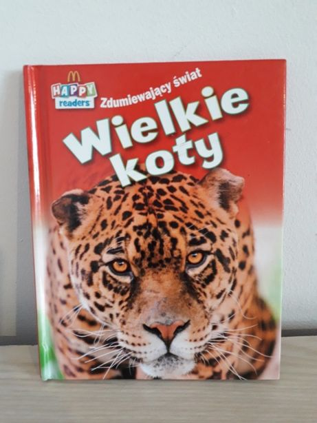 Zdumiewający świat Wielkie Koty Mcdonald's książeczka