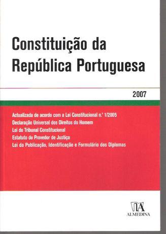 Constituição Republica Portuguesa - Almedina 2007