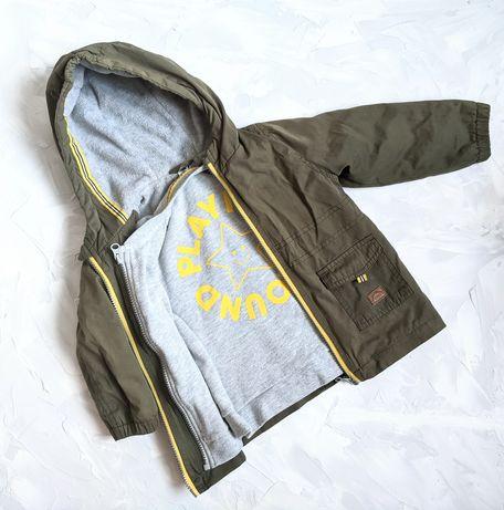 Куртка ветровка 2в1 92 BabyClub (CA)