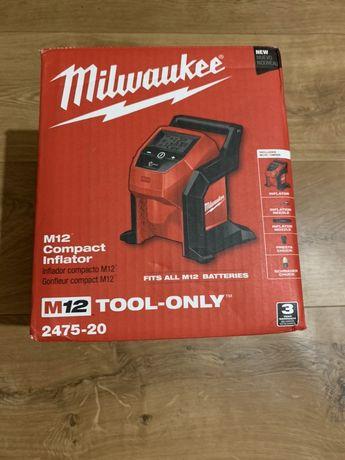 Milwaukee 2475-20 M12 Акумуляторный компресор