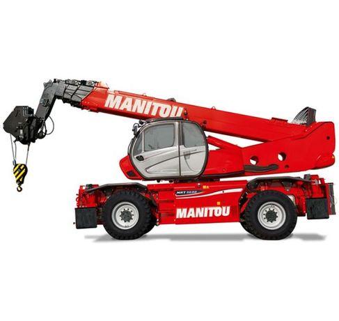 Wynajem Ładowarek: Teleskopowych Manitou MRT 1850, 2150 (obrotowe)
