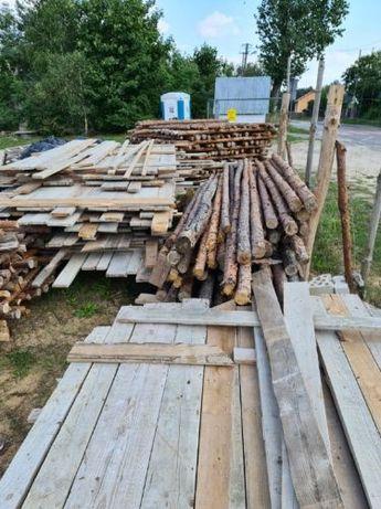Sprzedam stemple budowlane oraz deski szalunkowe