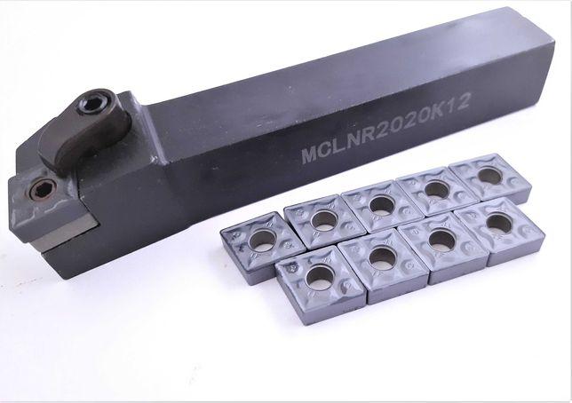 Nóż MCLNR 2020 K12 + 10 PŁYTEK CNMG 12
