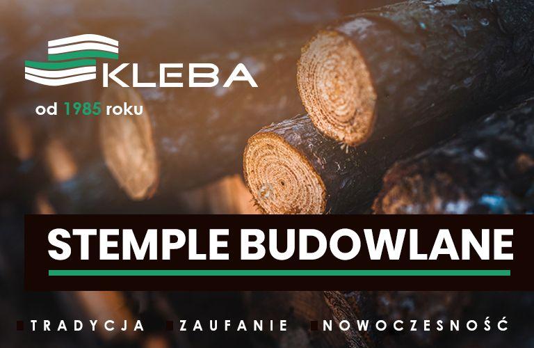 STEMPLE Budowlane - Materiał konstrukcyjny - Tartak - Transport Łebunia - image 1