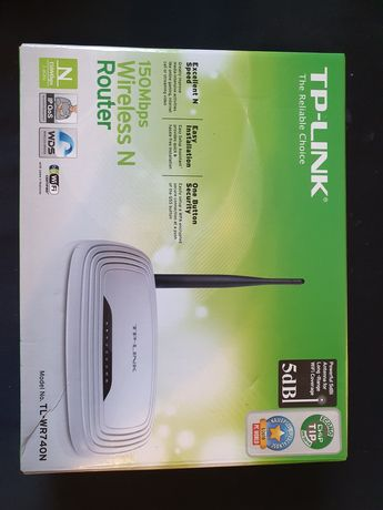 Router WIFI INTERNET TP link TL WR740N Neostrada Netia