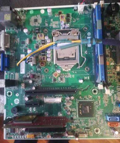 Материнская плата HP H-Cupertino2-H61-uATX 4x PCIe miniPCIe сокет 1155