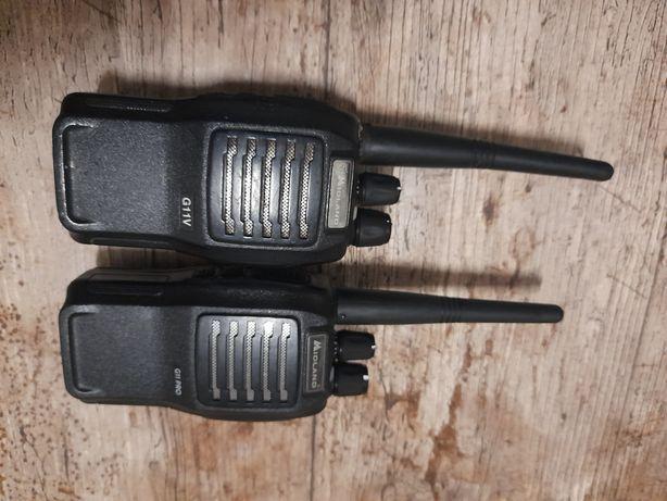2 Walkie talkies com carregador barato