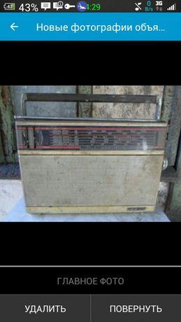 Старое радио.