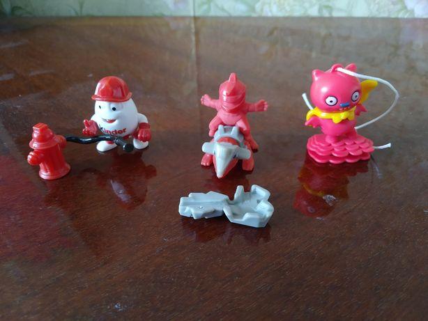 Три іграшки з кіндера за 45 грн